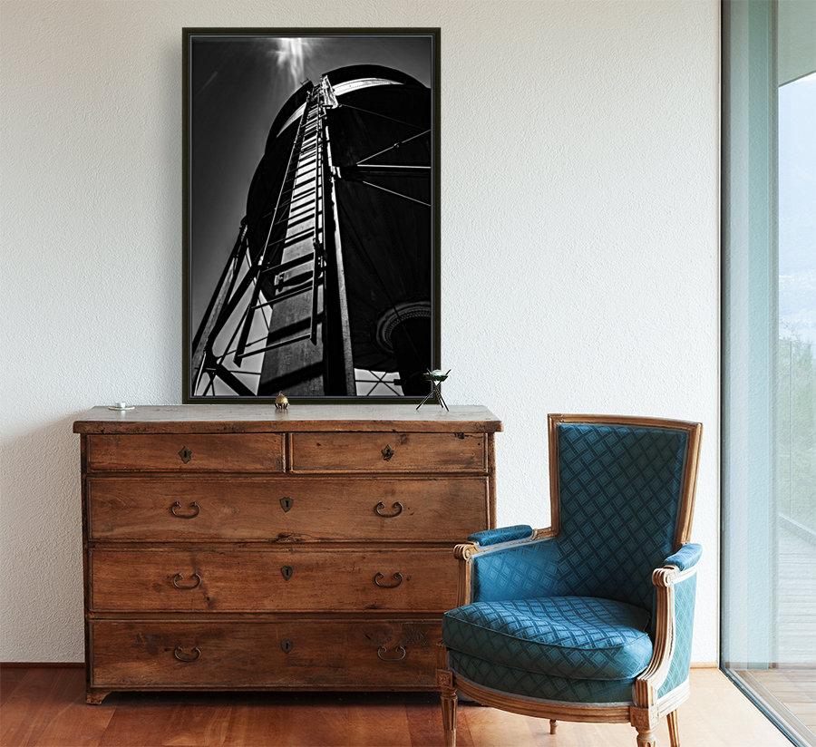 Water Tower BnW  Art