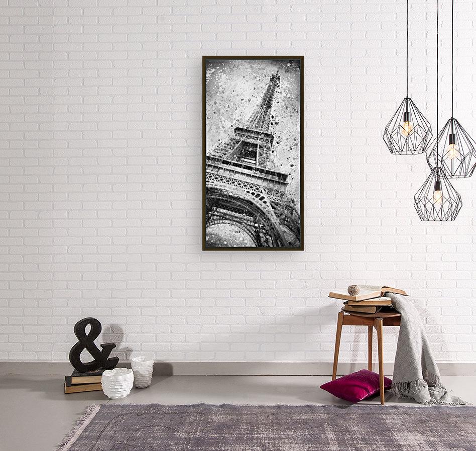 Monochrome Art EIFFEL TOWER   Art