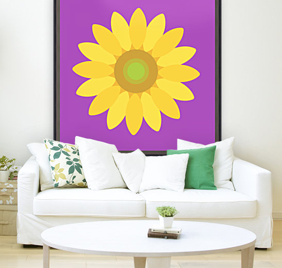 Sunflower (11)_1559876168.1472 with Floating Frame