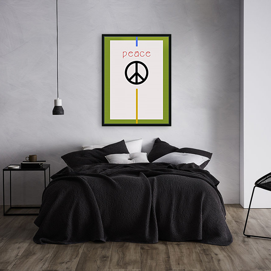 PEACE with Floating Frame