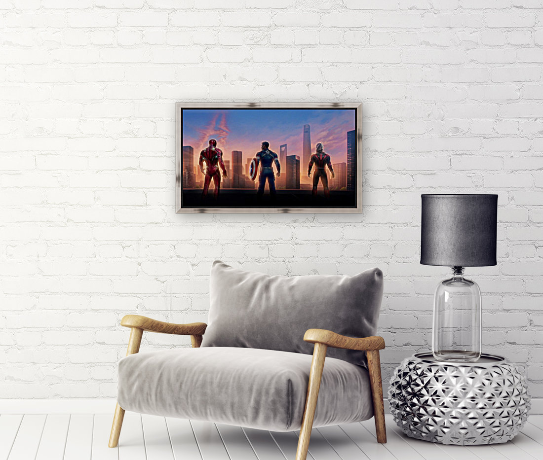 Avengers with Floating Frame