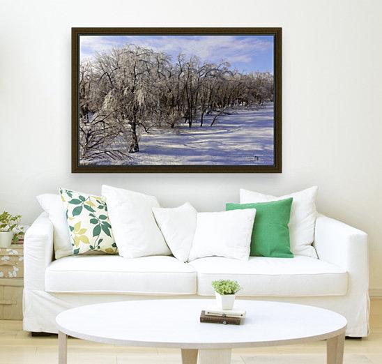 Matin glacé- Iced morning  Art