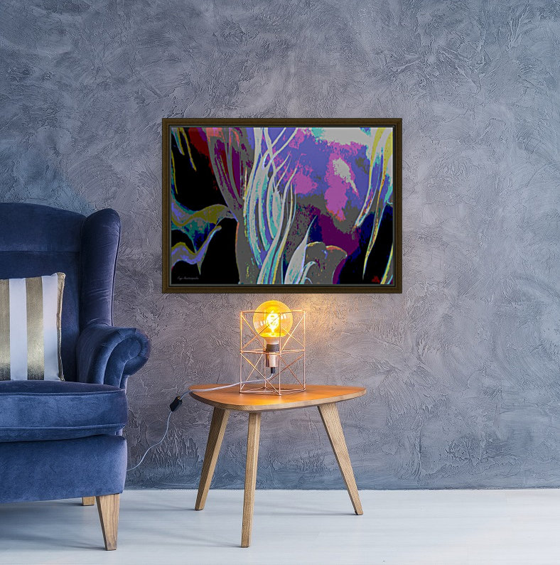 Colorful Melody Waves  Art