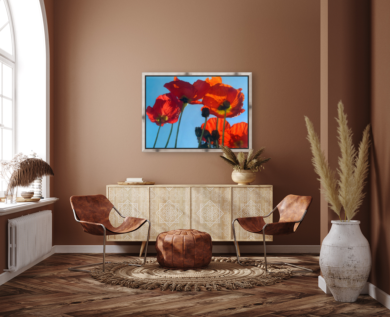 Poppies in the Sky  Art