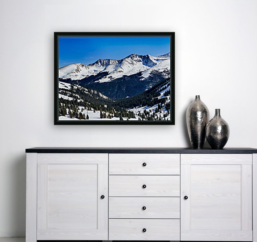 Copper Mountain with Floating Frame