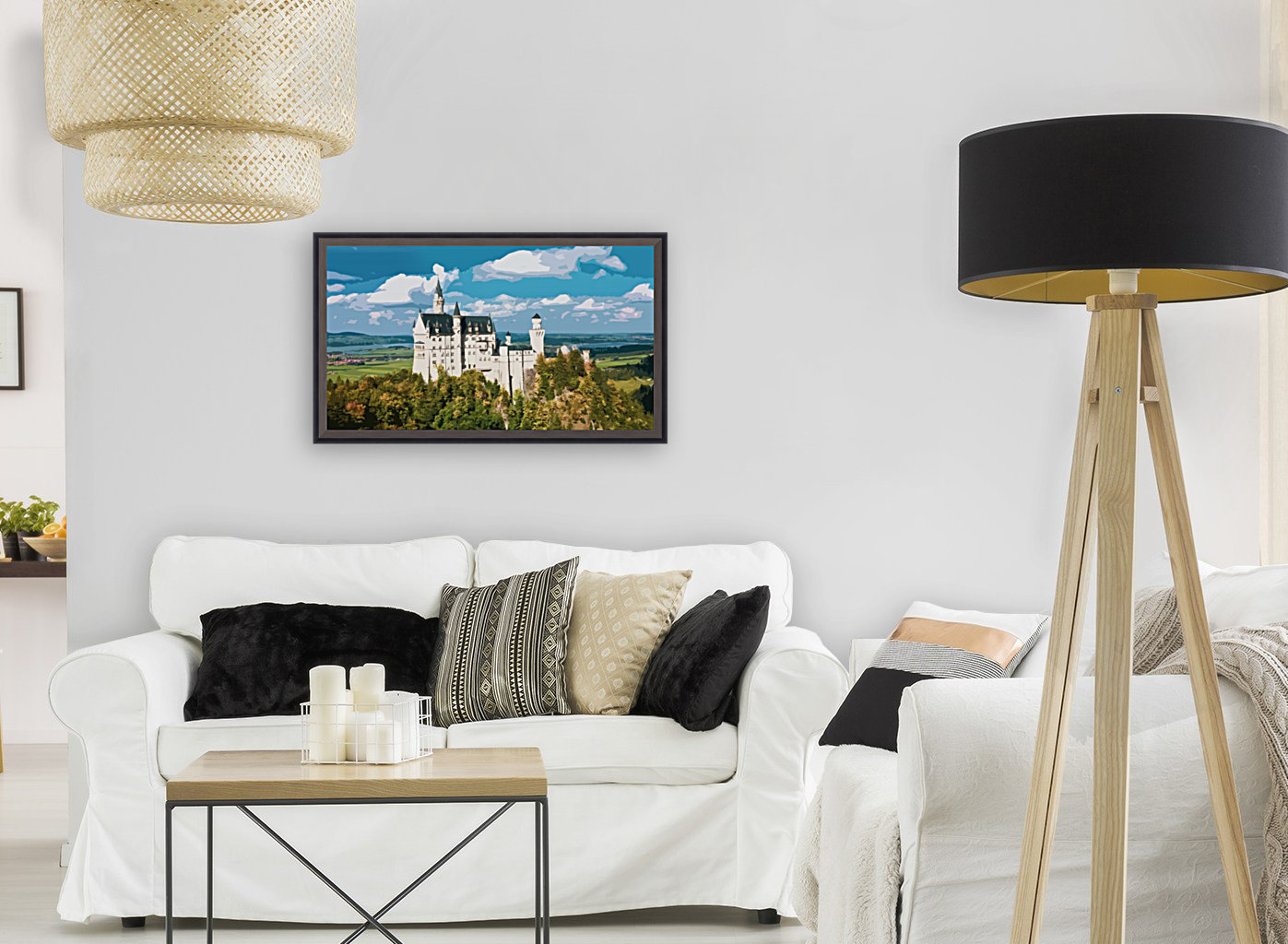 Neuschwanstein Castle poster  Art
