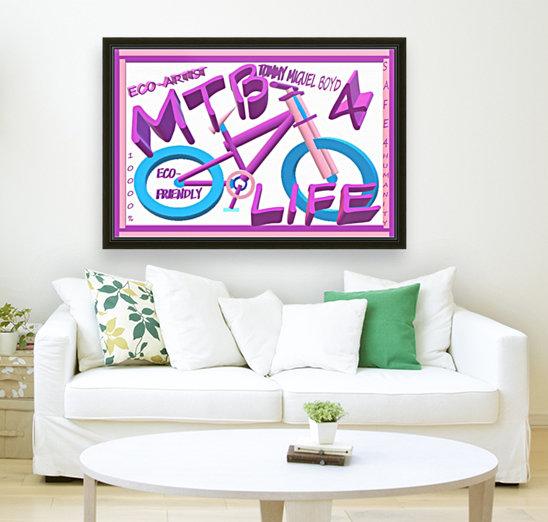 MTB 4 LIFE   ECO ARTIST TOMMY BOYD  Art