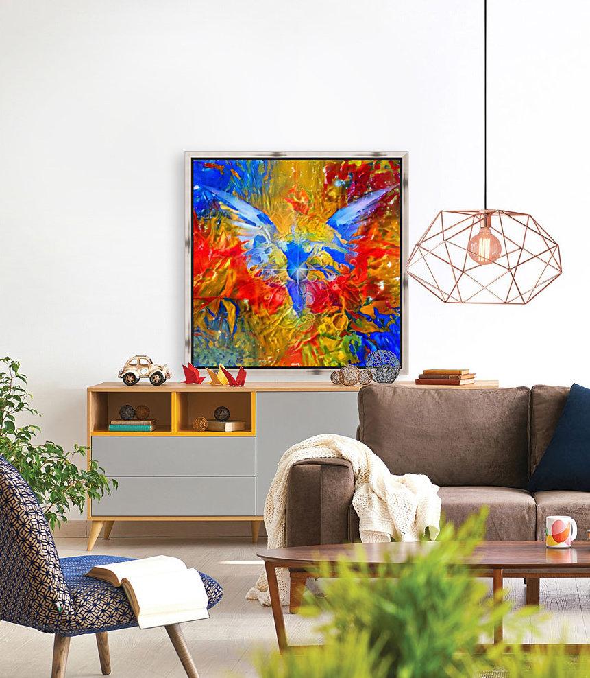 Flaming Eye of God  Art