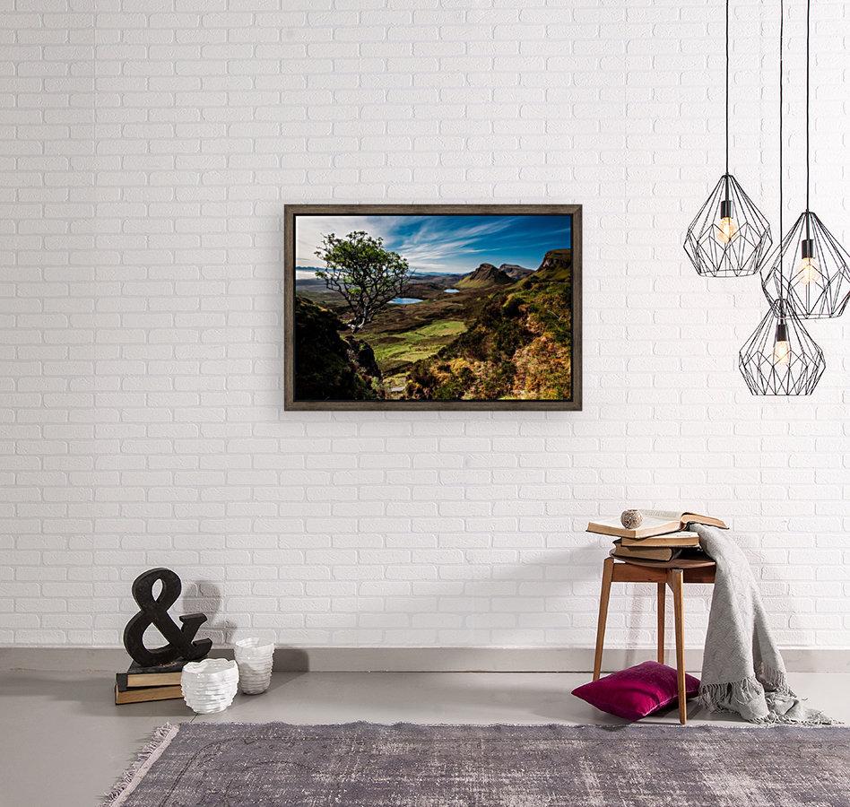landscape quairaing scotland  Art
