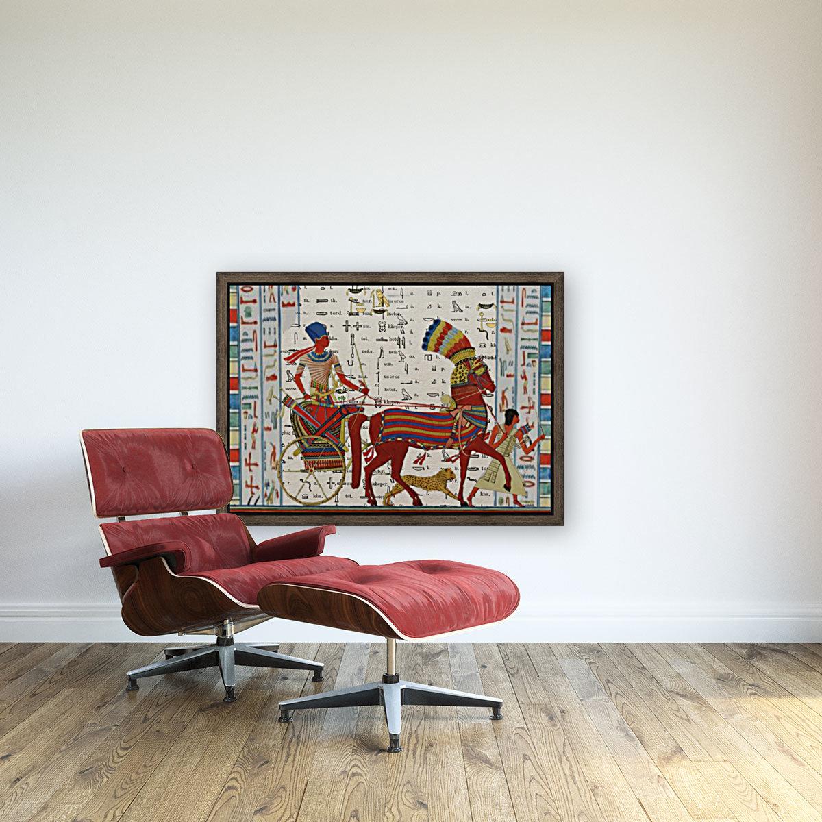 egyptian tutunkhamun pharaoh design   Art