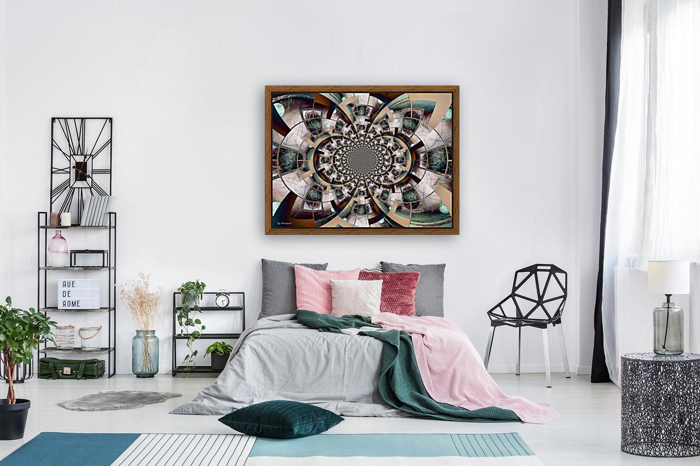 Graphic Ornamental Colorful  Art