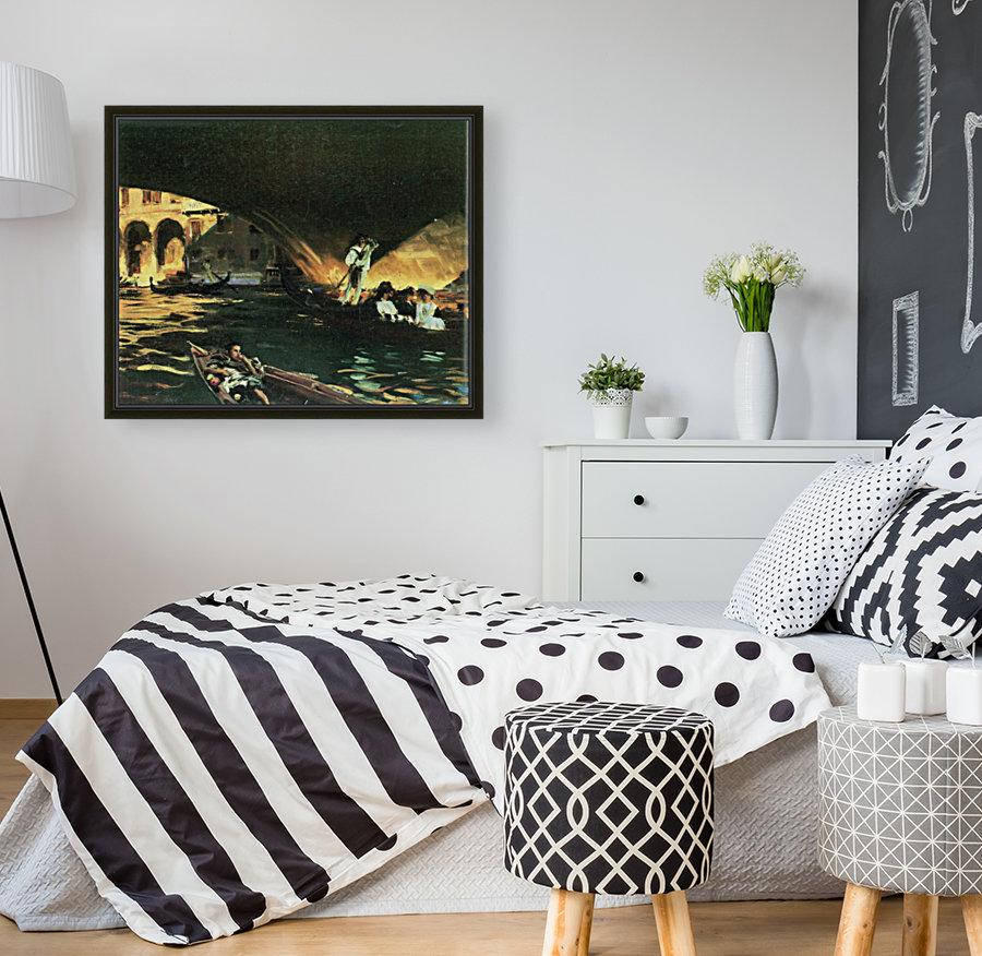 Rialto by John Singer Sargent  Art