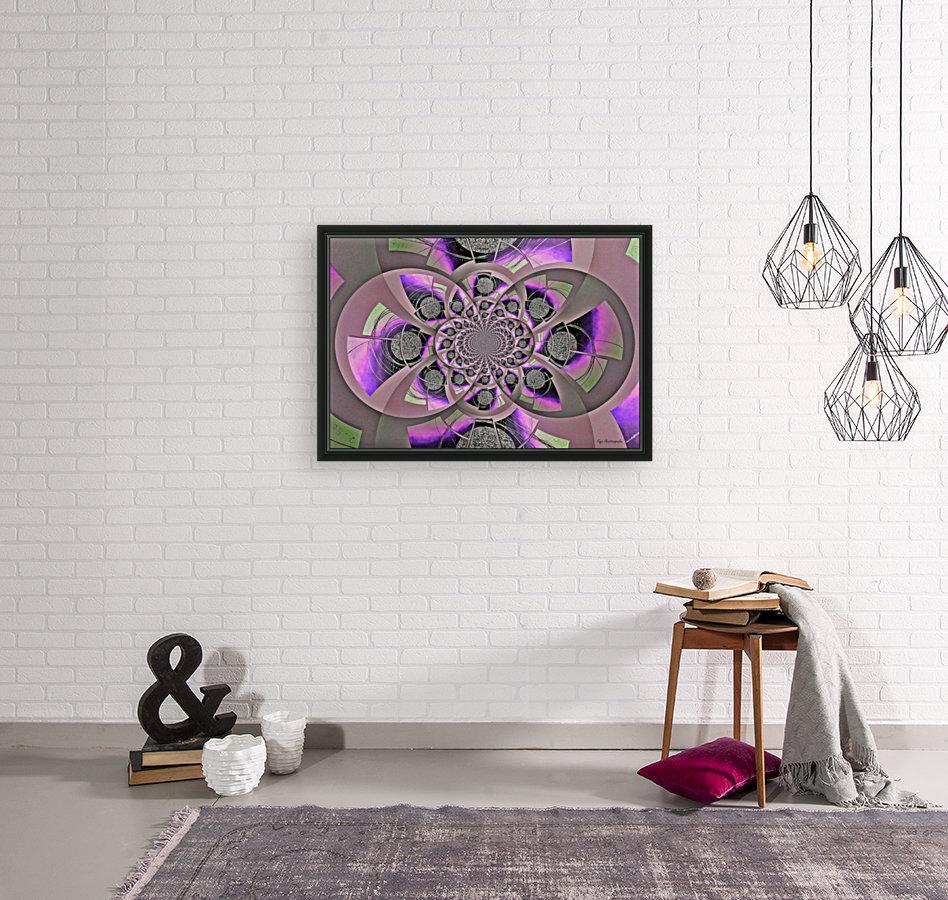 Mirror Infinity Lilac  Art