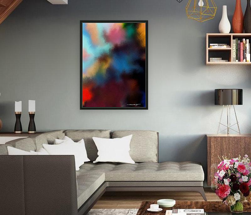 Color Burst - Breathe  Art