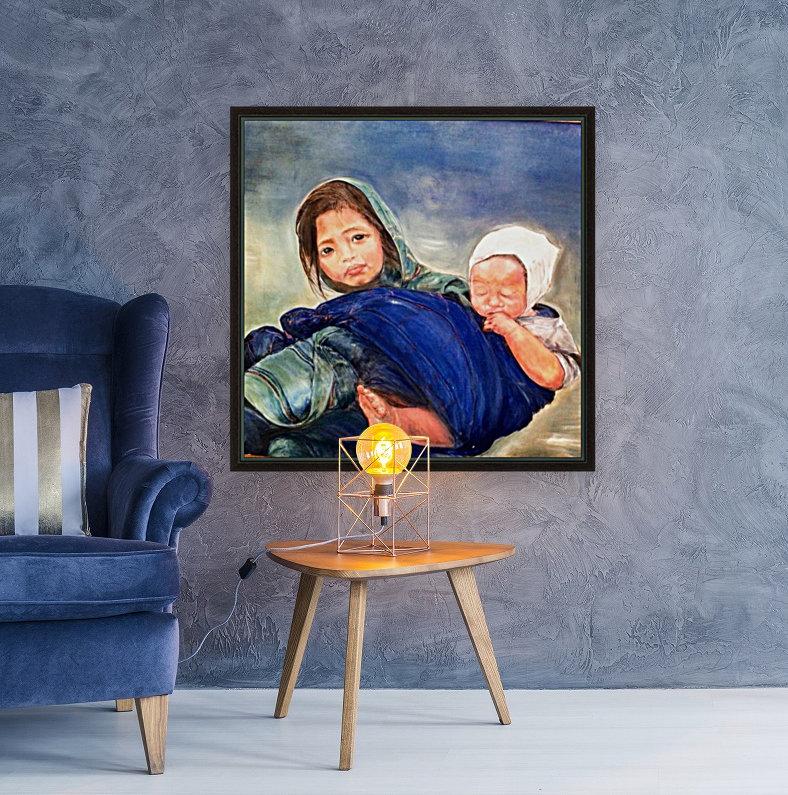 Child raising a Child  Art