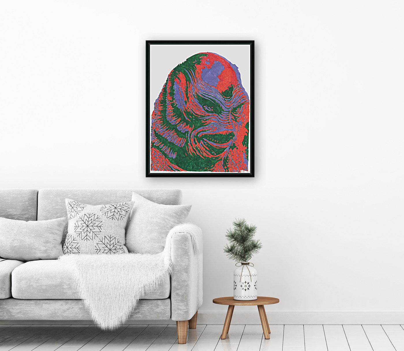 The Black Lagoon  Art