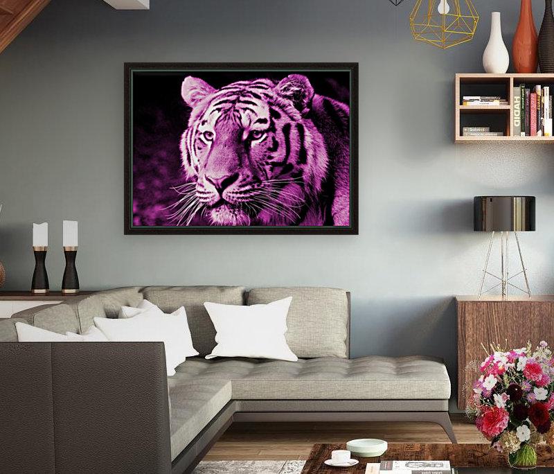 Tiger pop pink  Art