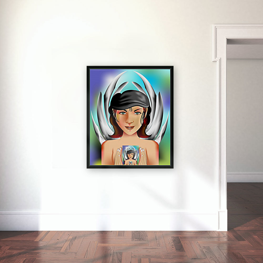 PORTRAIT with Floating Frame