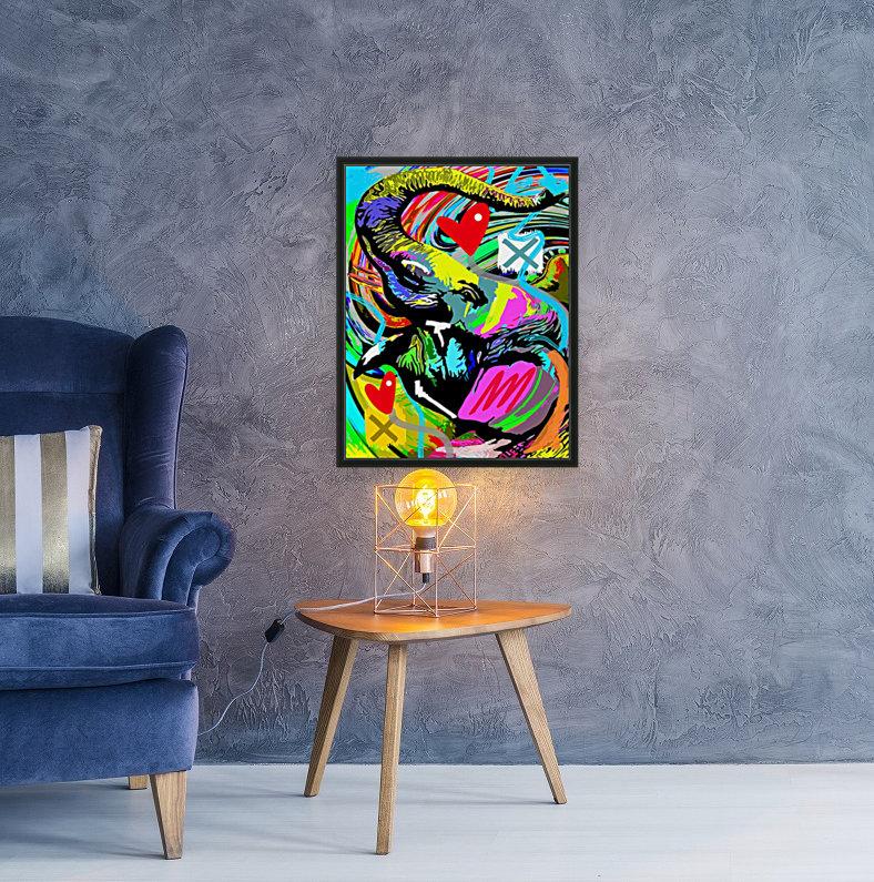 Color Elephant  Art