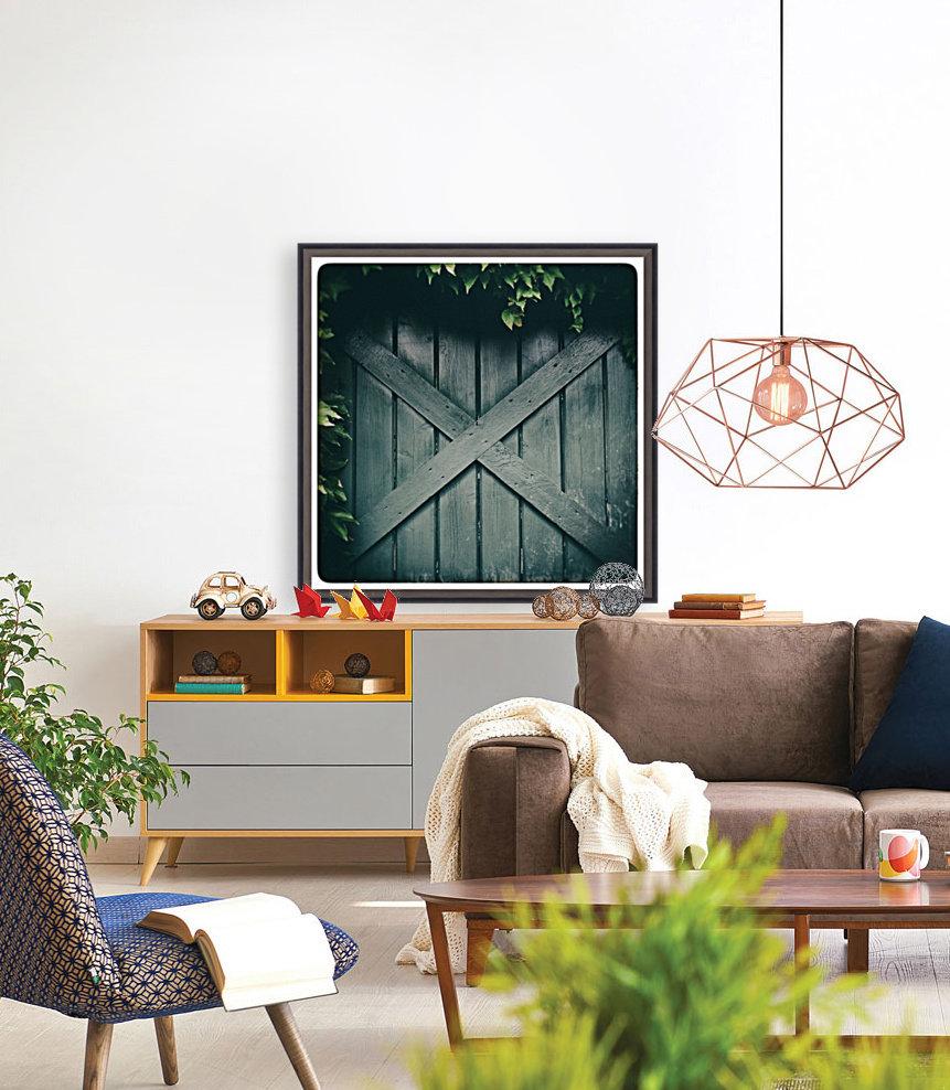 Green Doorway  Art