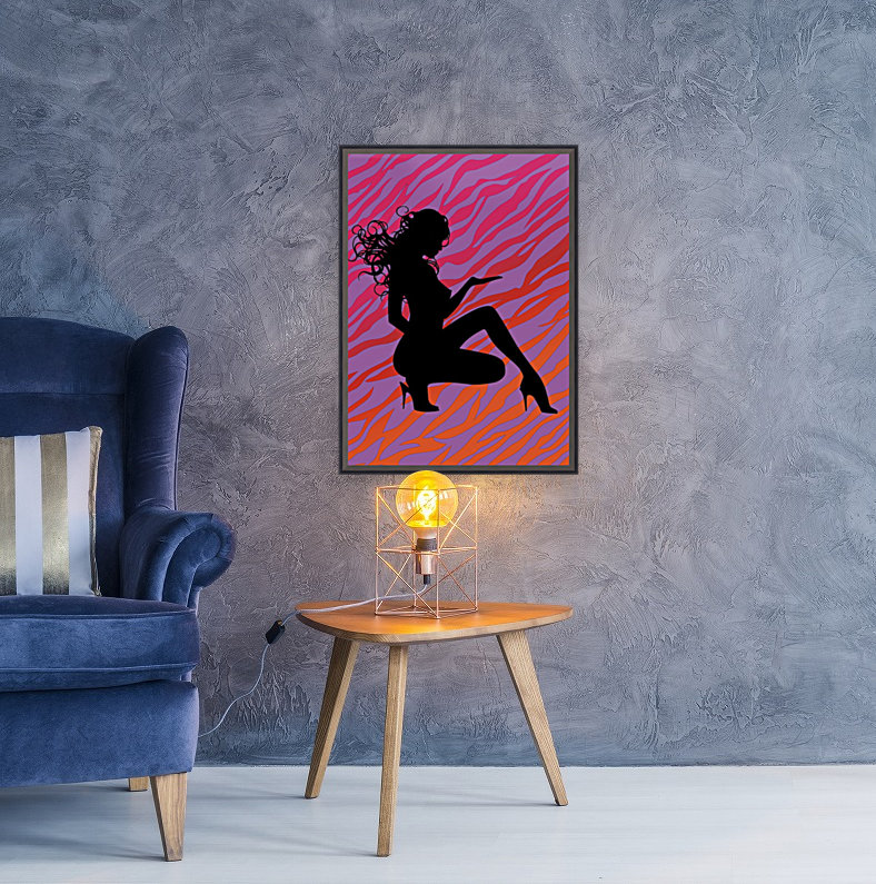 Silhouette 7 with Floating Frame