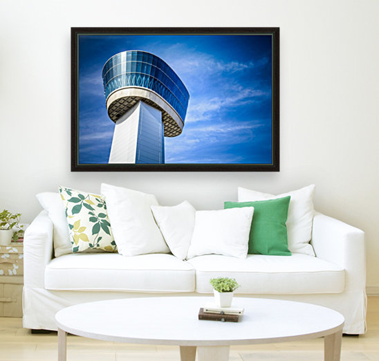 Airport Traffic Control Tower  Art