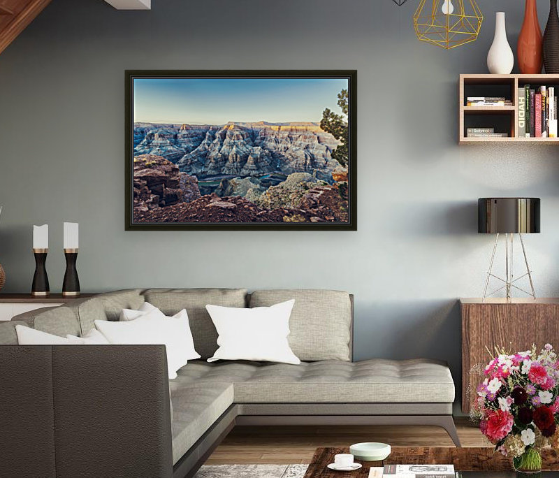 Grand Canyon National with Floating Frame