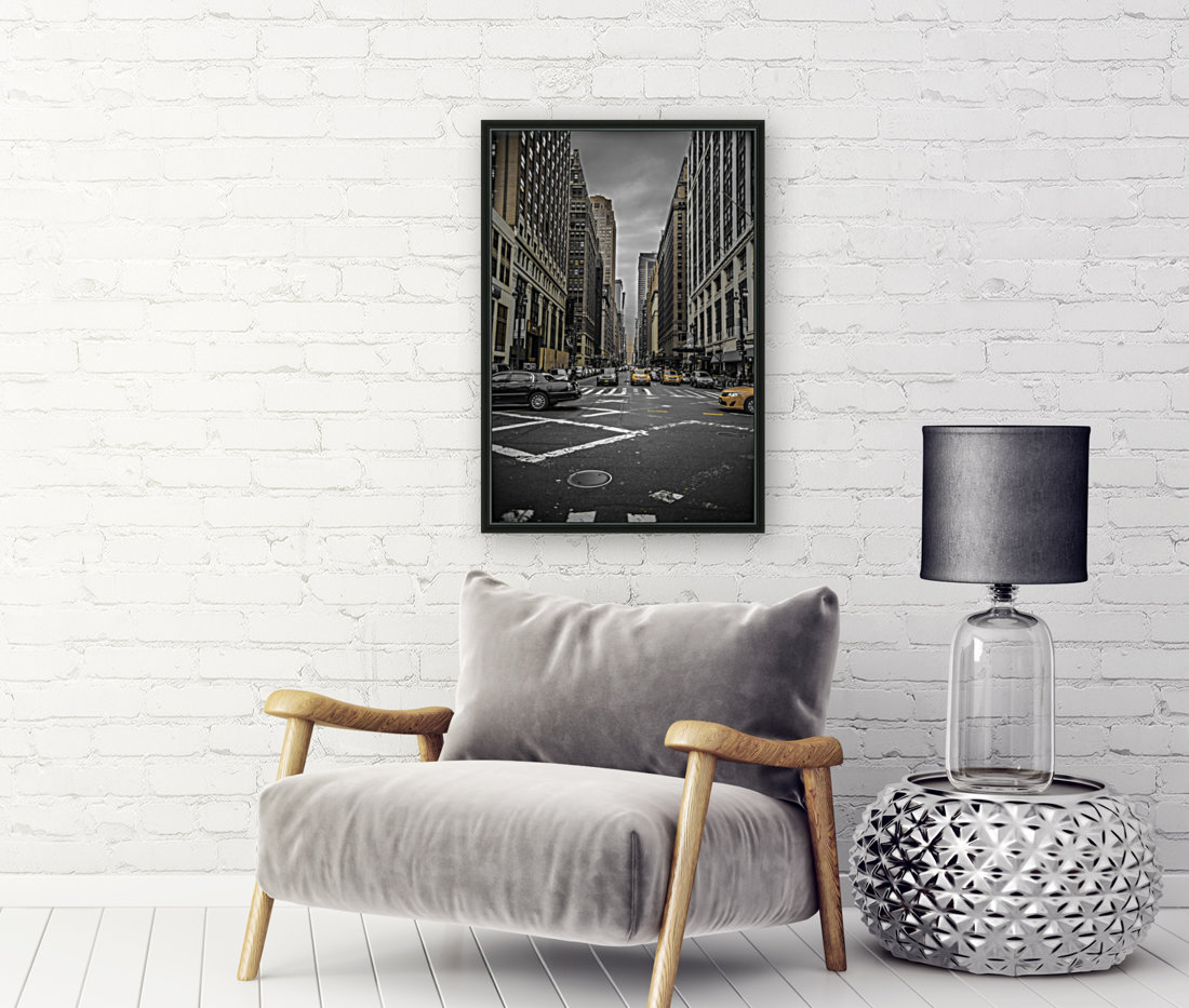 New York City  with Floating Frame