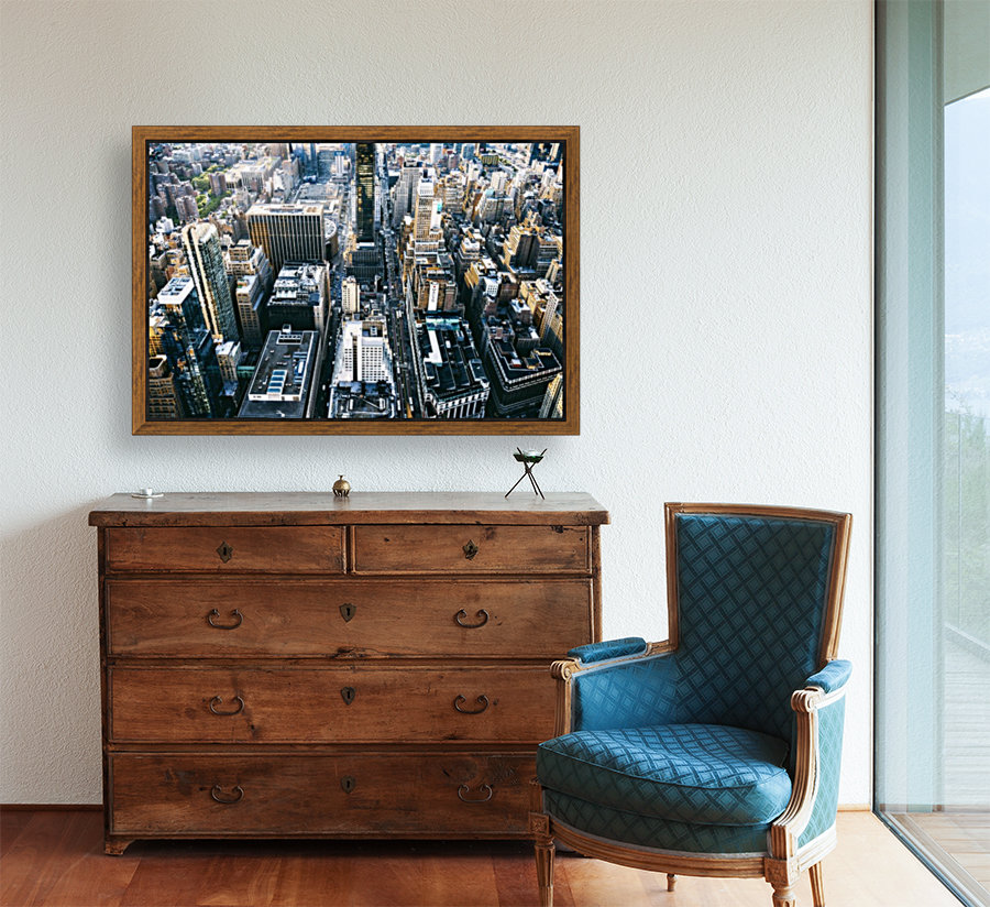New York city Skyline View   Art