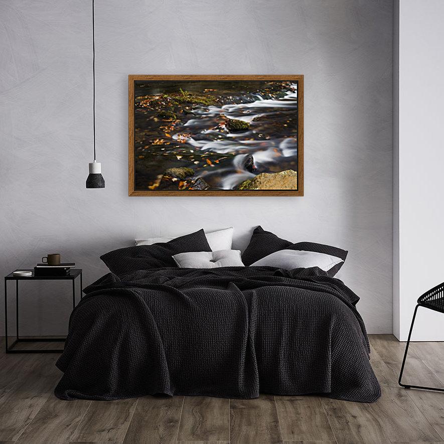 River Flow in Smokey Mountains  Art