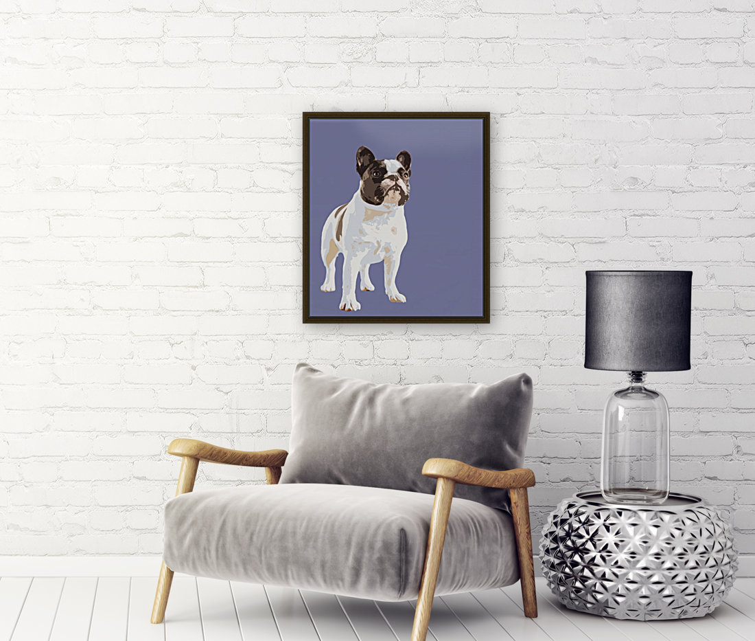 French Bulldog Pop art  Art