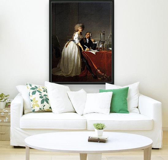 Portrait of Antoine Laurent and Marie Anne Lavoisier  Art