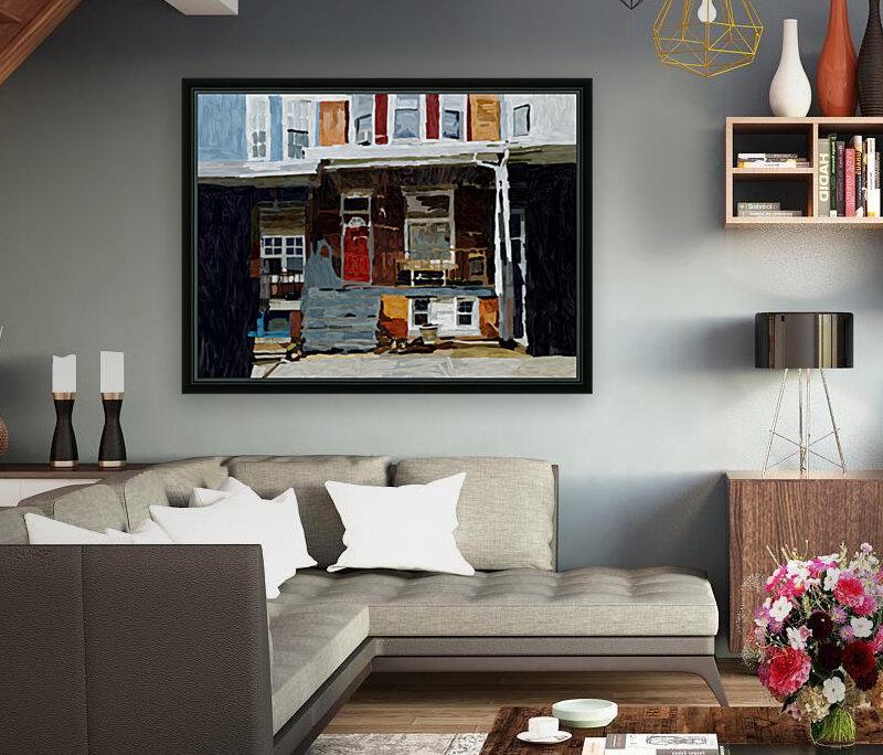 Hampden Rowhouse  Art