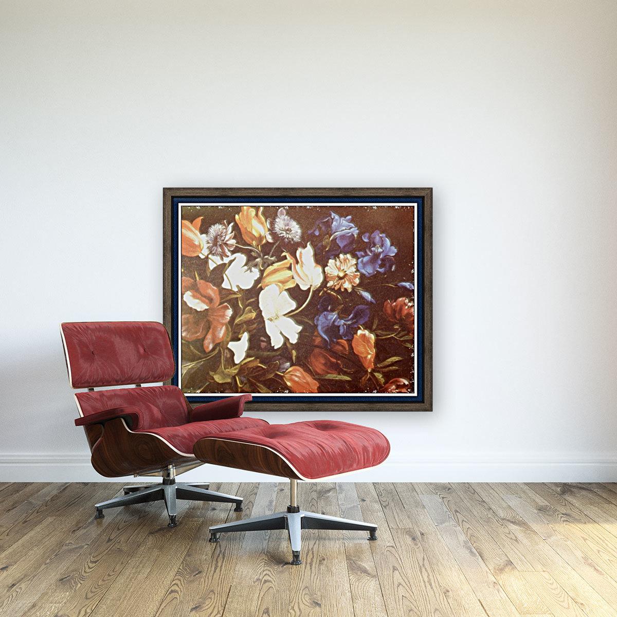 Brilliant Floral Display  Art