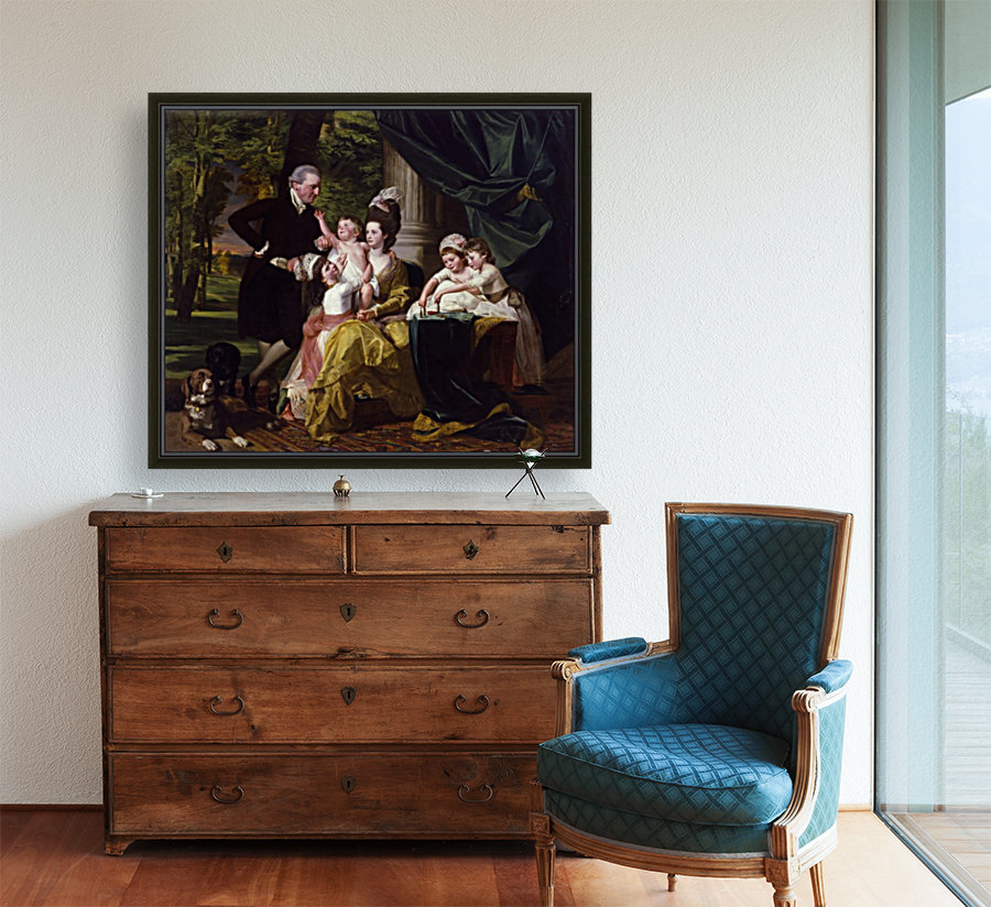 Sir William Pepperrell and His Family  Art