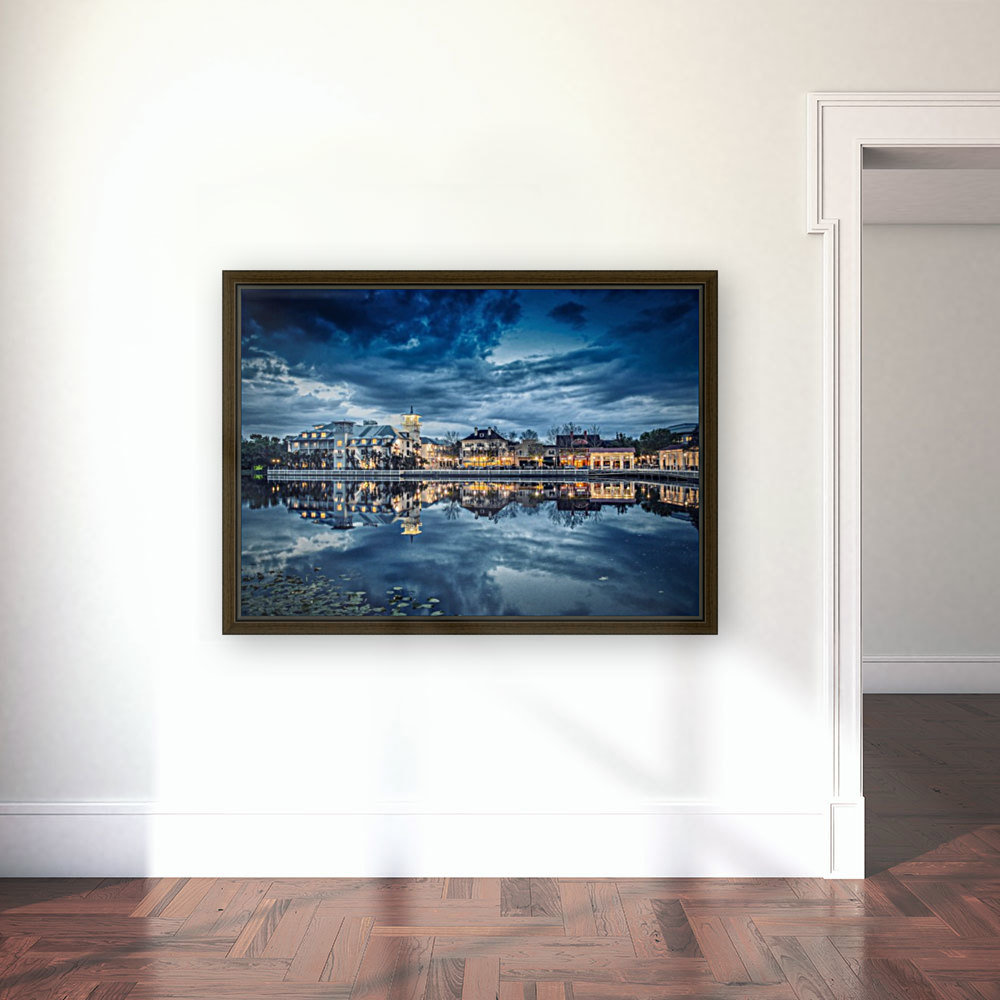 Florida sunset with Floating Frame