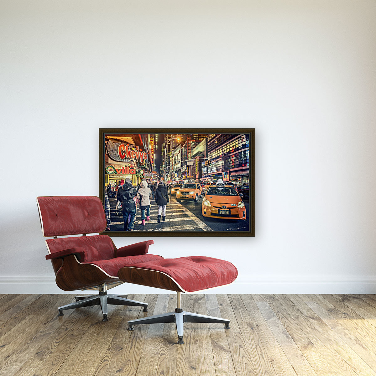 New York City Taxi Mayhem   Art