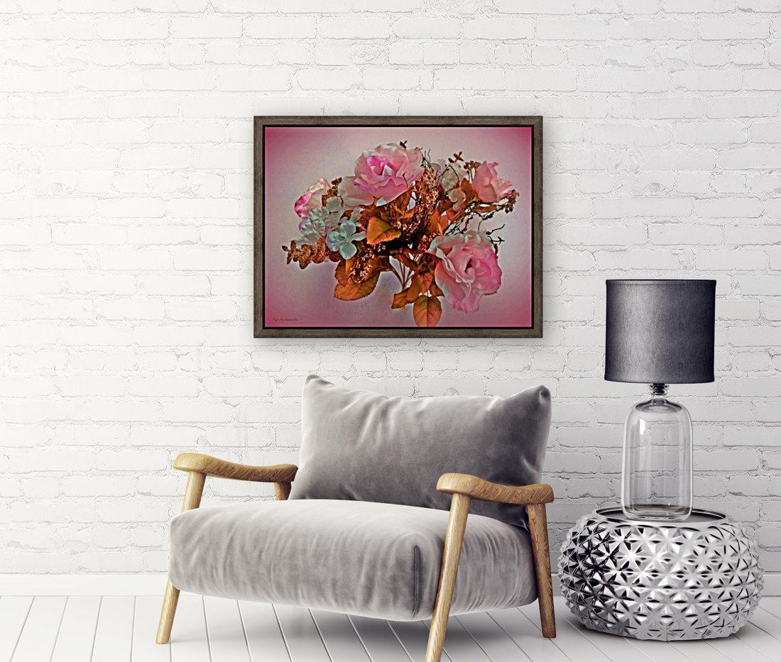 Pink Springtime Morning  Art