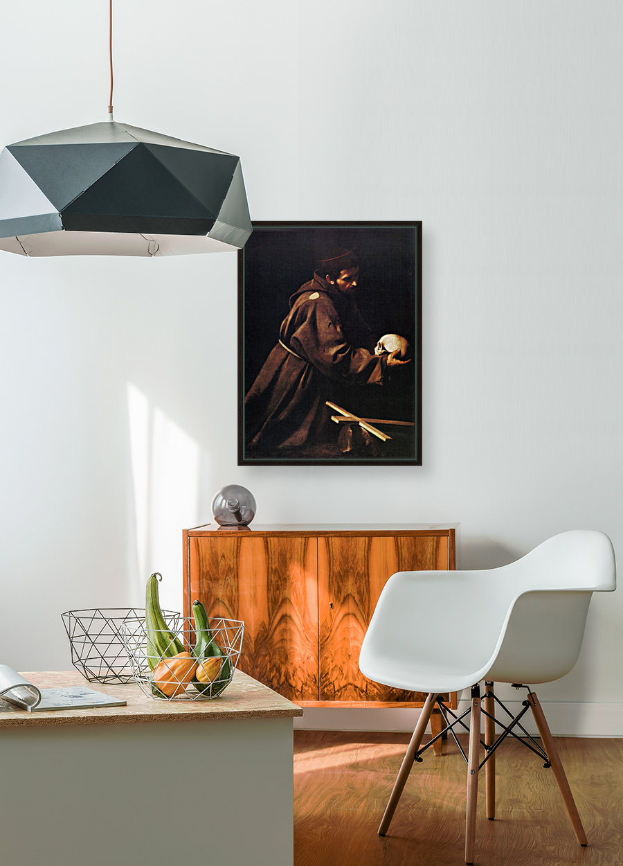 St Francis with Floating Frame