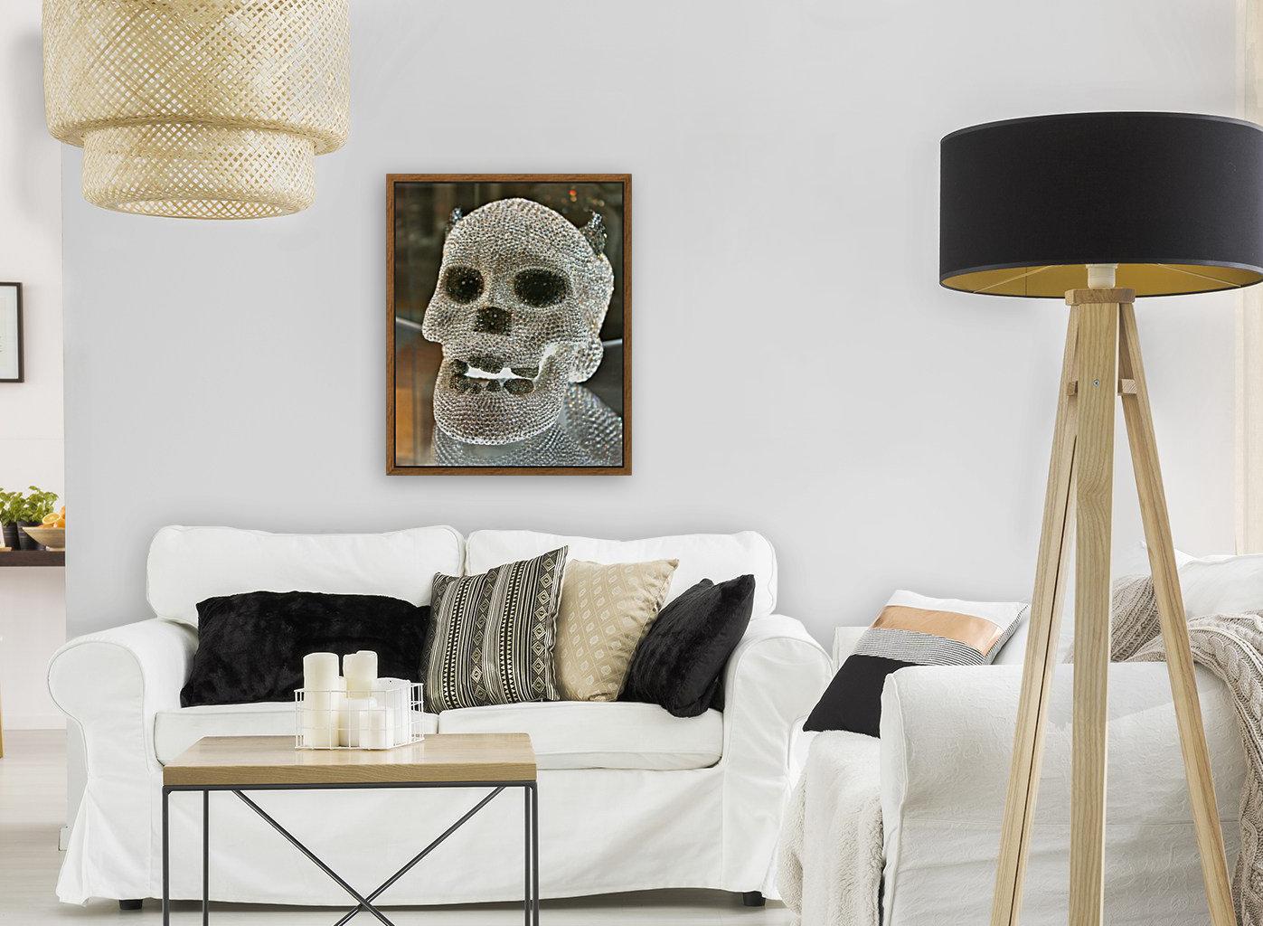 Paris Crystal Skull  Art