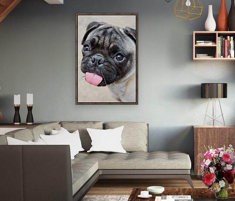 Pug Joker  Art