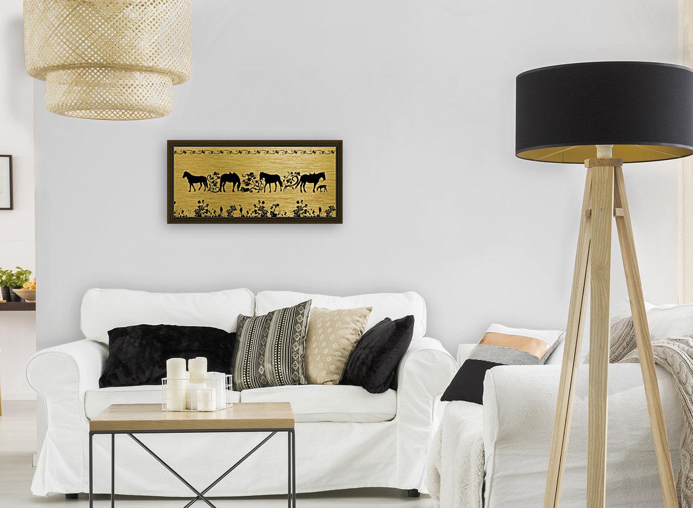 Gold illustration for interior decoration 2  Art
