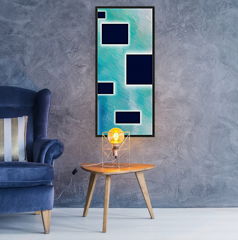 Beautiful abstract illustration for interior decoration 1  Art