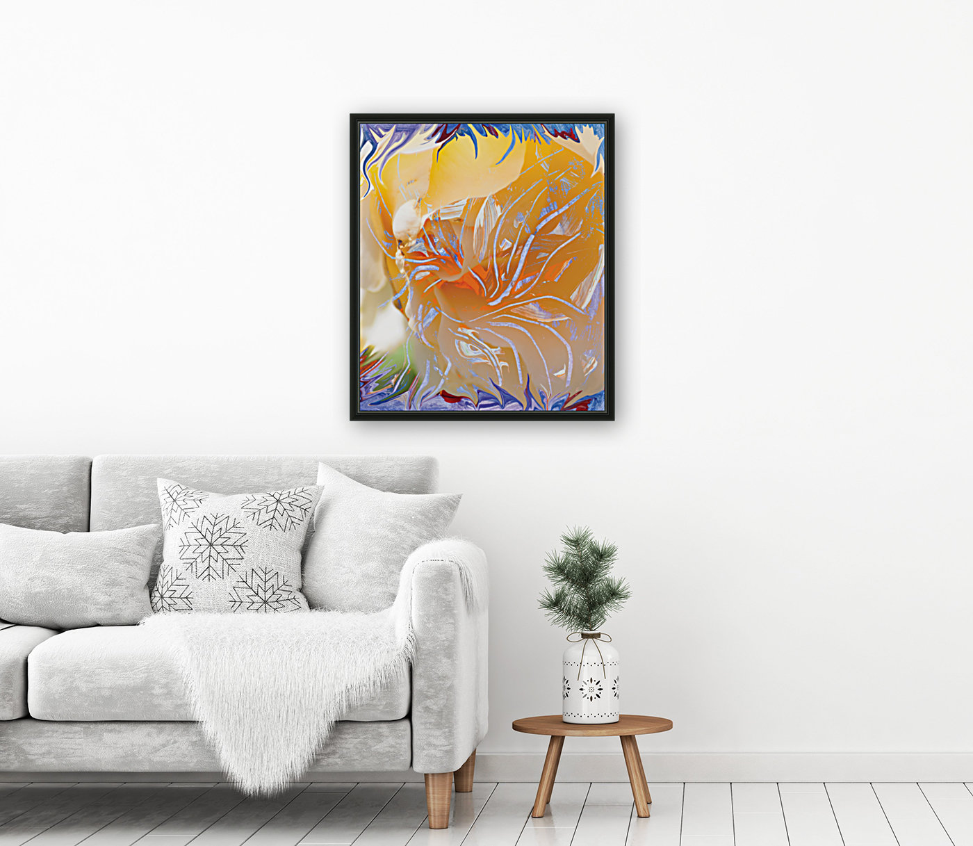 warm colors abstraction  Art