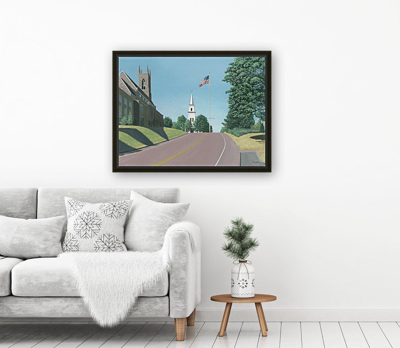 Church Hill Road - Newtown Scenes 16X20  Art