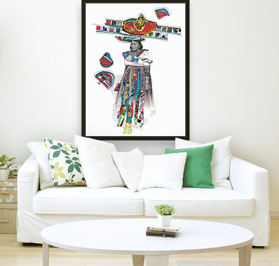 Herero Woman 7  Art