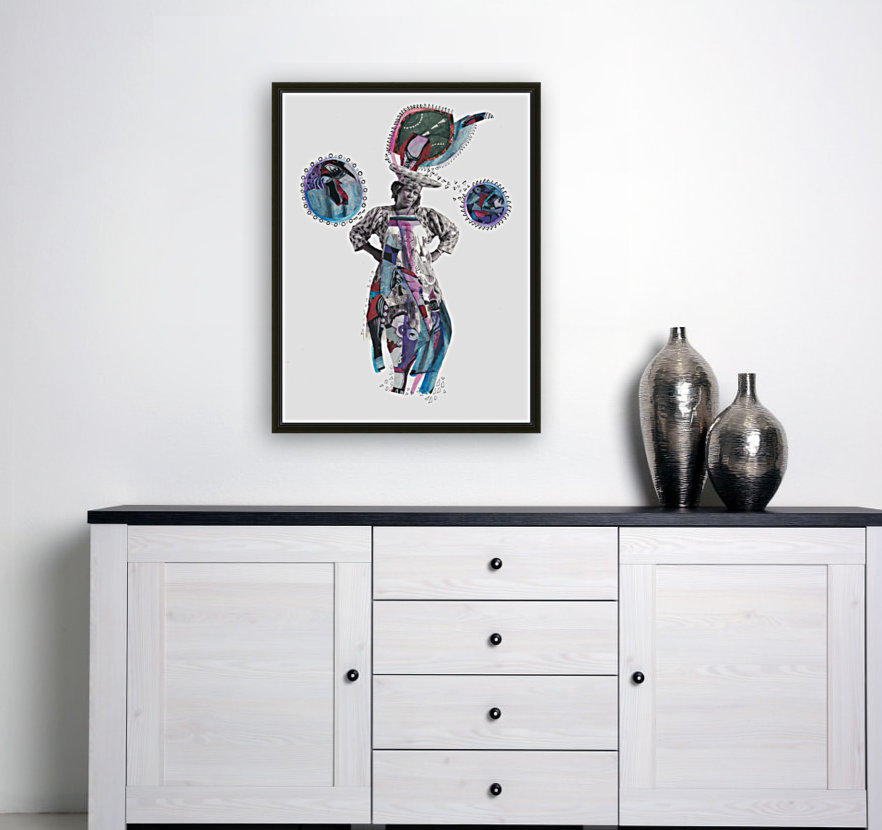 Herero Woman 3  Art