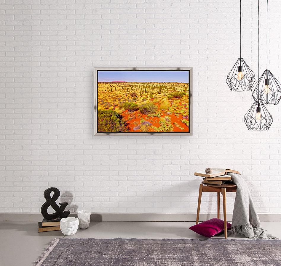 Dune Landscape - Central Australia  Art