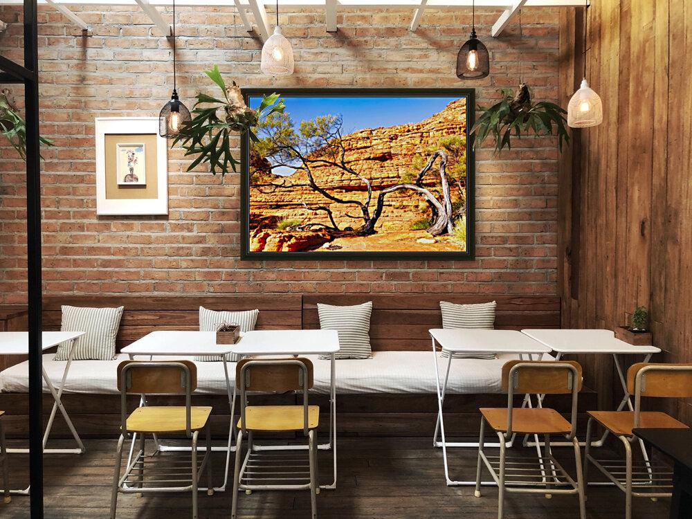 Twisted Tree - Kings Canyon  Art