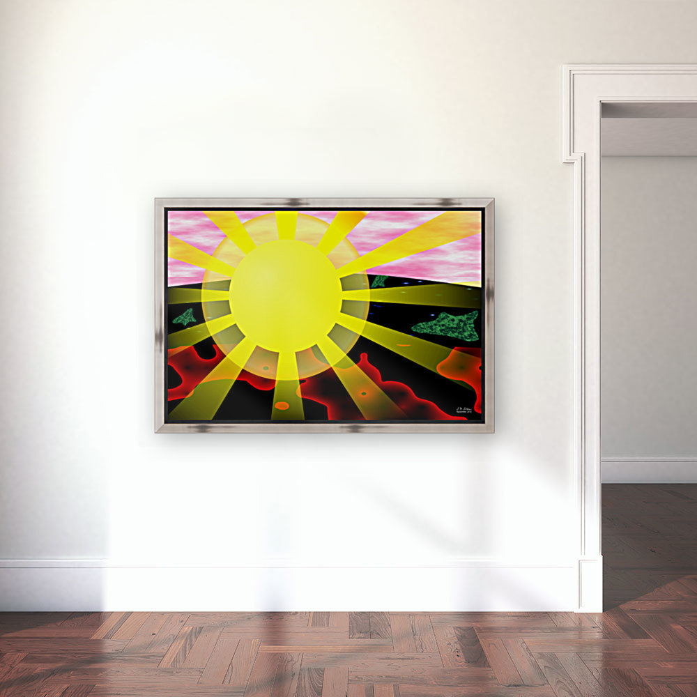 1-My Sunshine with Floating Frame